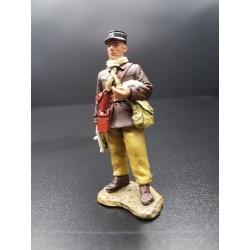 Officier du 15e bataillon d'infanterie motorisé, France 1940