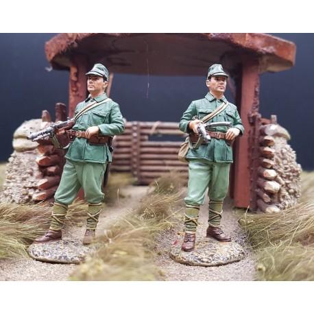 Soldat d'infanterie Japonais, 1938-1945 avec PM NAMBU