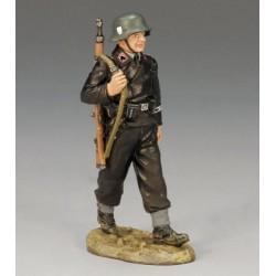 Tankiste Allemand en marche, WW2