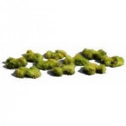 Décors-dioramas, touffes d'herbes courtes vertes, à disséminer ou à regrouper