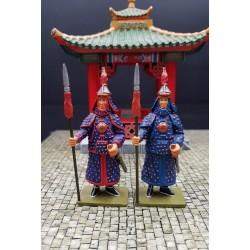 2 gardes impériaux Chinois, Chine impériale