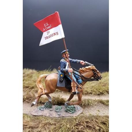 Guidon du 2e régiment de dragons Nord-Américains, THE REAL WEST
