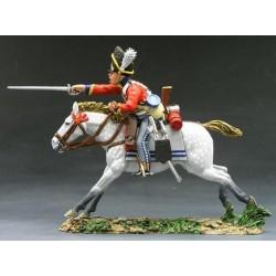 Dragon des Scots Greys, 2 nd North britsih dragoons, Waterloo 1815