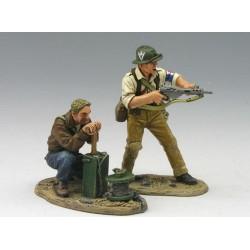 Groupe de 2 résistants Français, 1941-1944