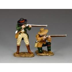 2 Texans au combat, FORT ALAMO, 1836