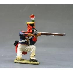 Fusilier d'infanterie Mexicain à l'assaut, Fort ALAMO TEXAS 1836