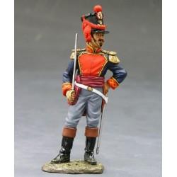Officier d'artillerie à pied Mexicain, ALAMO 1836