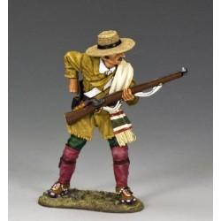 Le dernier combat du Texan Antonio FUENTES, FORT ALAMO, 1836