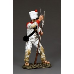 Fusilier d'infanterie Mexicain à l'assaut de la mission d'ALAMO TEXAS 1836