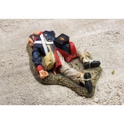 Fusilier d'infanterie Mexicain tué, assaut de Fort ALAMO TEXAS 1836