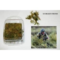 Décors, dioramas, ensemble de mauvaises herbes, pour camouflage