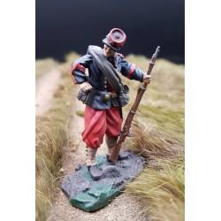 Soldat du 14e régiment d'infanterie BROOKLYN, 1861 guerre de sécession