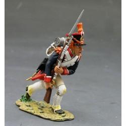 Fusilier d'infanterie de la ligne Français, en progression