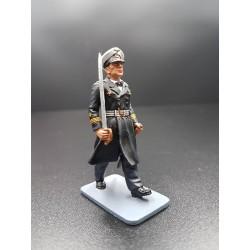 Officier de marine Allemand de la Kriegsmarine, au défilé