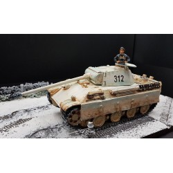 Panzer PANTHER AUSF. G Allemand, camouflage hiver, Ardennes 1944-1945