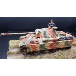 Panzer PANTHER AUSF. G Allemand, avec camouflage, Normandie 1944