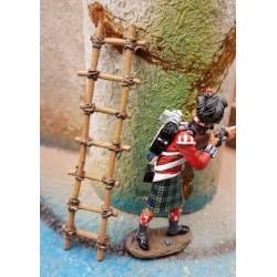Décor-diorama, échelle artisanale pour figurines 54-60mm