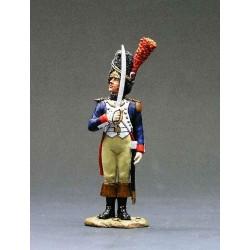 Officier, grenadiers à pied, garde impériale Française 2