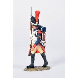 Grenadier à pied, garde impériale Française, en marche