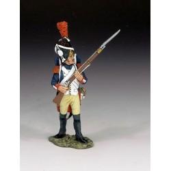 Grenadier à pied, garde impériale Française, en attente