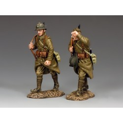 FOB114 - 2 soldats d'infanterie