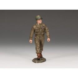 DD158 Général Omar Bradley inspectant les troupes