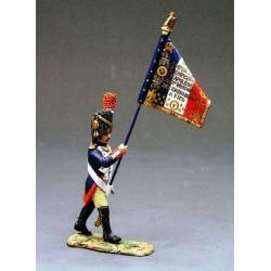 Officier porte-aigle, grenadiers à pied, garde impériale Française