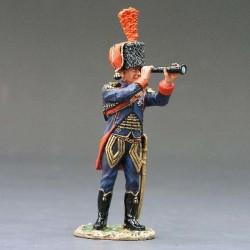 Officier d'artillerie à cheval, garde impériale Française