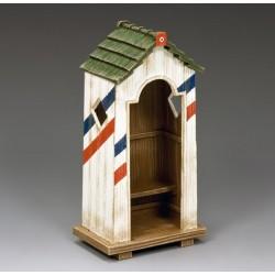Décor-diorama, guérite poste de garde Français, 1er empire Français