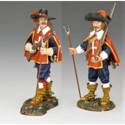 PNM060+PNM061 les Mousquetaires des gardes du Cardinal Richelieu