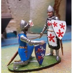 SIR ROBERT D ARCY ET FERIBI CRECY 1346