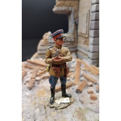 Officier Soviétique du NKVD, armée rouge, bataille de Berlin, 1945