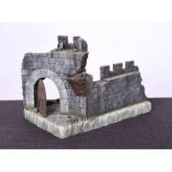 Château Fort moyen âge