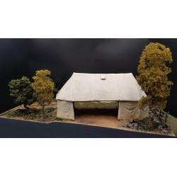 """Diorama """"poste de secours avancé"""", troupes confédérées, guerre de sécession 1861-1865"""