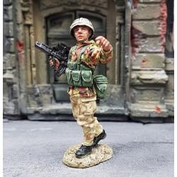 Royal marine commando Britannique