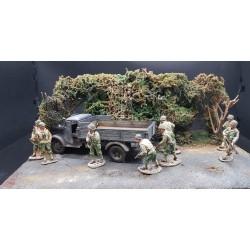 "Diorama ""Bocage Normand, été 1944"""