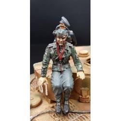 Chef de char ou de véhicule blindé Allemand, panzerdivision 1944-45