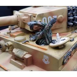 Tankiste Allemand, panzerdivision, 1944-1945, avec gants