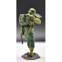 CS00584, Soldat d'infanterie Américain de la 2e division au combat, Normandie 1944