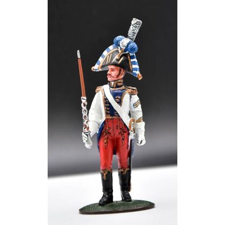 NAP, Tambour-major Westphalie 1er empire 1810