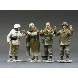 """"""" Prisonniers ! bataille des Ardennes, hiver 1944-1945"""