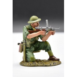 RS034B, soldat d'infanterie Australien, guerre Pacifique 1941-1945