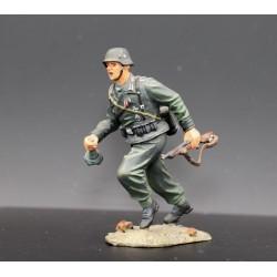 Soldat d'infanterie Allemand, Wehrmacht, au combat