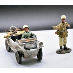 Schwimmwagen Allemande de l'Afrika Korps, 1941-1943