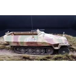 Panzerwagen semi-chenillé, SdKfz251 Allemand, Normandie 1944