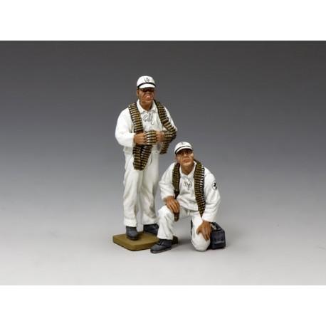 2 armuriers, marine aéronavale Japonaise, 1941