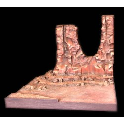 FP2, DIORAMA FAR WEST Monument Valley pour King & Country