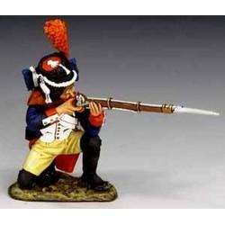 Grenadier à pied, garde impériale Française, tirant