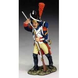 Grenadier à pied, garde impériale Française, rechargeant
