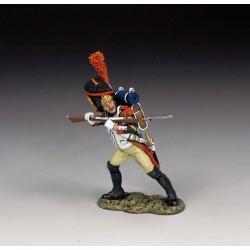 Grenadier à pied, garde impériale Française, au combat